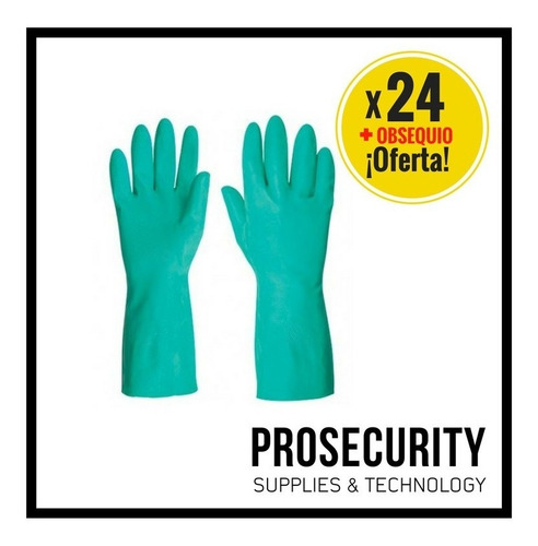 guantes de nitrilo resistente a quimicos liquido aceite