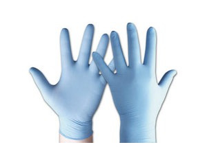 guantes de nitrilo x 100un. marca np