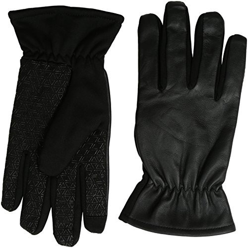 guantes de pantalla táctil ghd men fine leather y softshell,