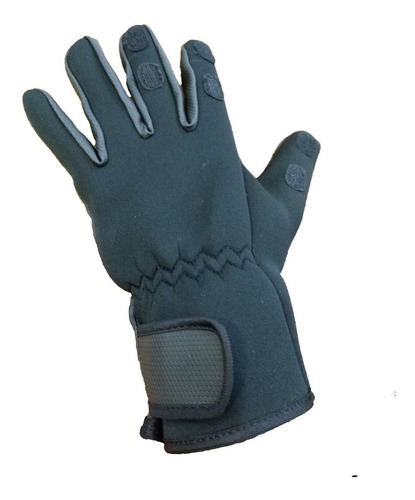 guantes de pesca neoprene 3mm dedos desmontables