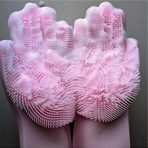 guantes de silicona magicos para lavar vajilla