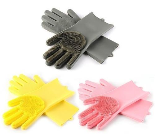 guantes de silicona para lavar multiusos tendencia mundial f