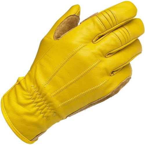guantes de trabajo biltwell inc. cuero oro 2xl