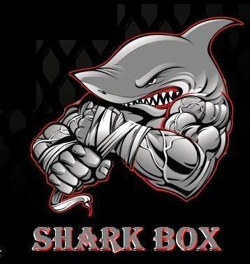 guantes de vale todo marca shark box  cuero sintet c/ abrojo
