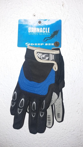 guantes deep see by aqua lung 2mm barnacle dive gloves