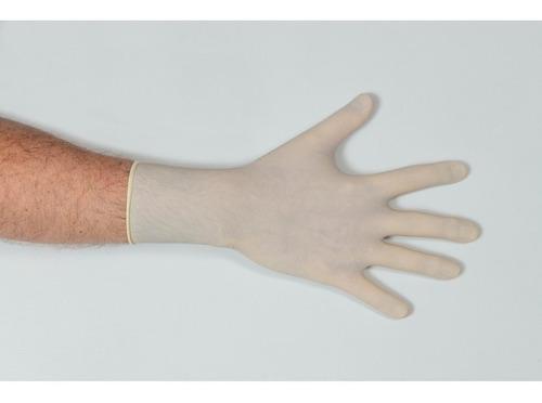 guantes descartables de latex talle l topmedical