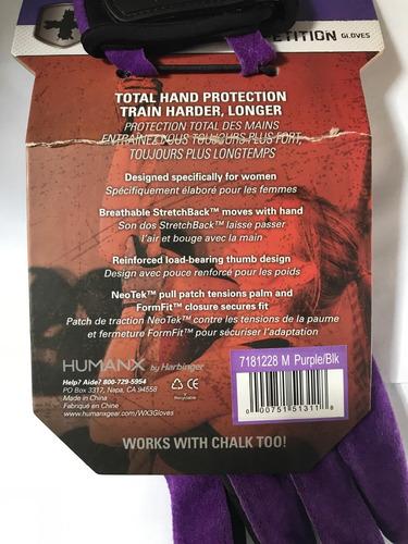guantes ejercicio mujer pesas crossfit calistenia de piel