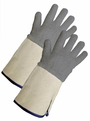 guantes en algodon contra calor trabajo panaderia horno 200°