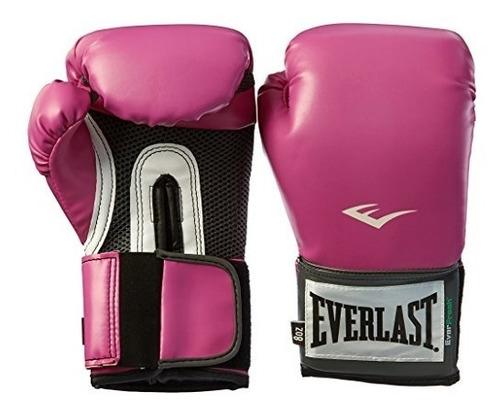 guantes everlast pro style mujeres de formación, rosa - 8
