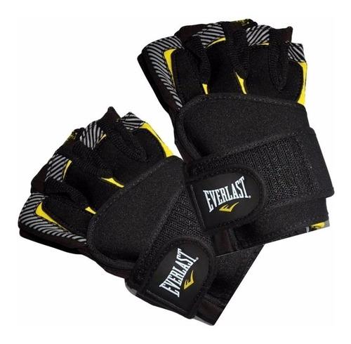 guantes everlast zebra para pesas, gimnasio,gym 100%original