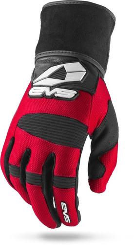 guantes evs envolver rojo md negro