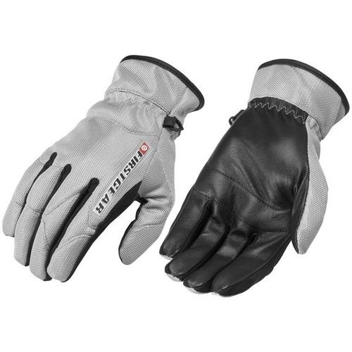 guantes firstgear ultra mesh mujer plata sm