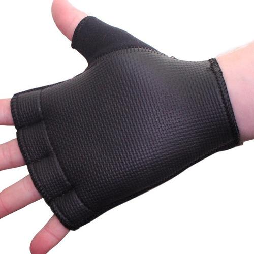 guantes fitness podio unisex neoprene goma velcro gym pesas