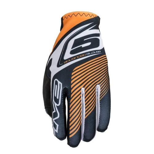 guantes five5 mx motocross naranja lg la práctica offroad