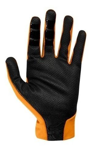 guantes flexair adulto motocross moto naranja fox