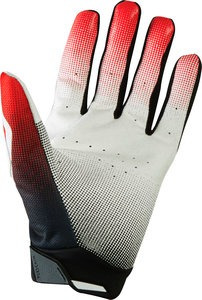 guantes fox racing flexair 2015 carrera mx/offroad rojo sm