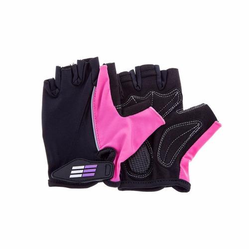 guantes freerunning gv033-006 negro - fucsia para mujer