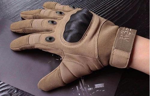 guantes gear® para moto/bicicleta nudillo militar