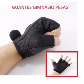 Guantes Gimnasio Gim Pesas Bicicleta Hombre Mujer Medio Dedo