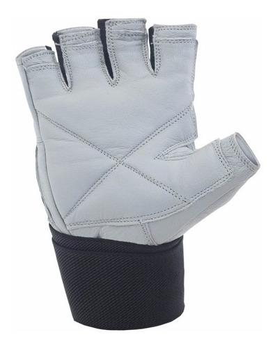 guantes gimnasio gym pesas manopla drb king fitness cuero