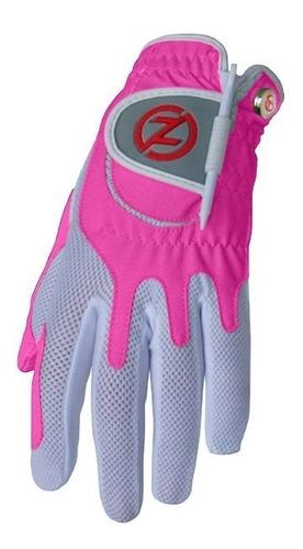 guantes golf zero friction rosa para dama