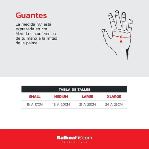 guantes gym balboafit gimnasio fitness funcional pesas