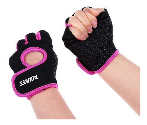 guantes gym mujer pesas tacticos crossfit gimnasio