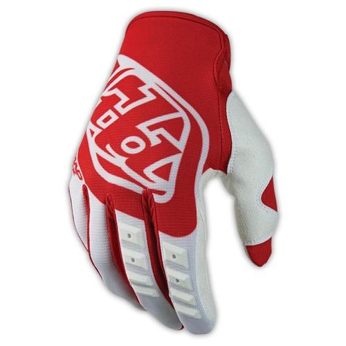guantes hom. troy lee designs gp 2016 mx/off. rojo/blanco sm
