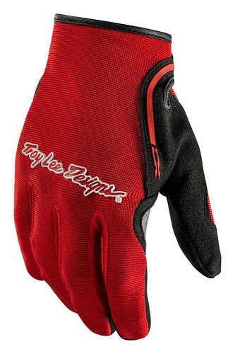 guantes hom. troy lee designs xc mx/off. rojo/ 2xl