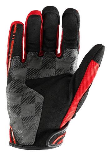 guantes hom. troy lee designs xc mx/off. rojo/ xl