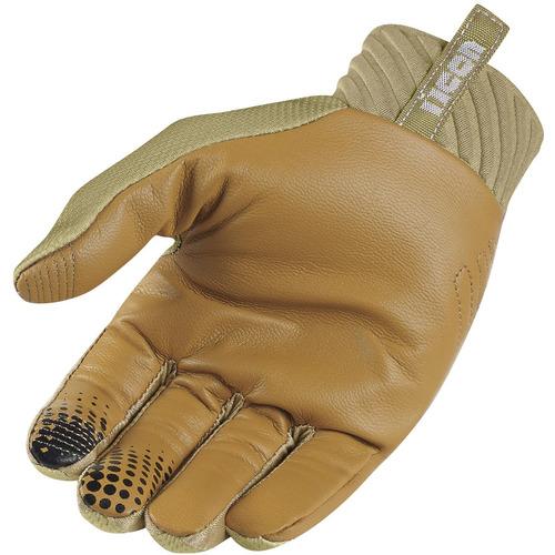 guantes hombre arakis raiden, ícono, gris tan 3xl