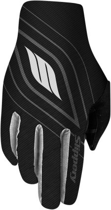 guantes hombre slippery flex lite negro/blanco/gris sm