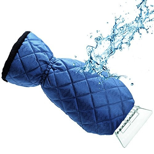 guantes ice scraper mitt for car windshield snow  buho store