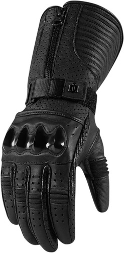 guantes icon 1000 fairlady p/mujer negros sm