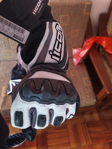 guantes icon compound mesh longtalla m