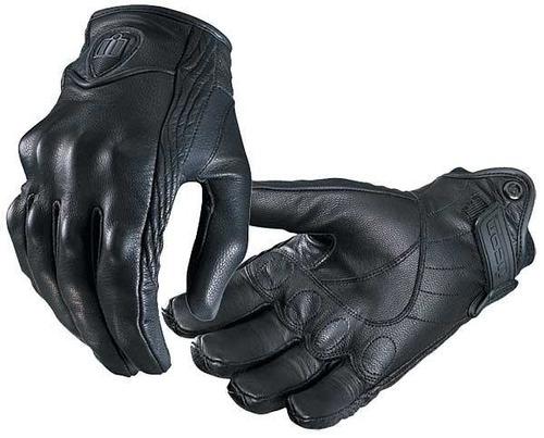guantes icon persuit motociclista piel proteccion deportivos