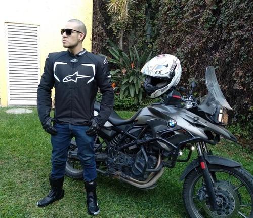 guantes icon persuit piel lisos motociclista remate