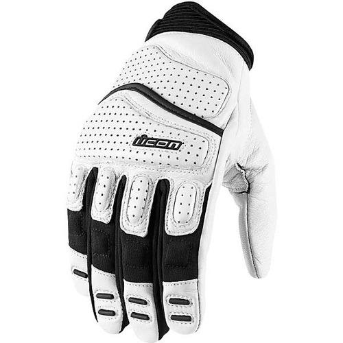 guantes icon superduty 2 de cuero blanco lg