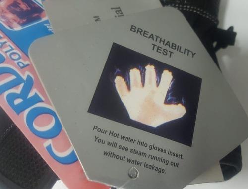guantes impermeables