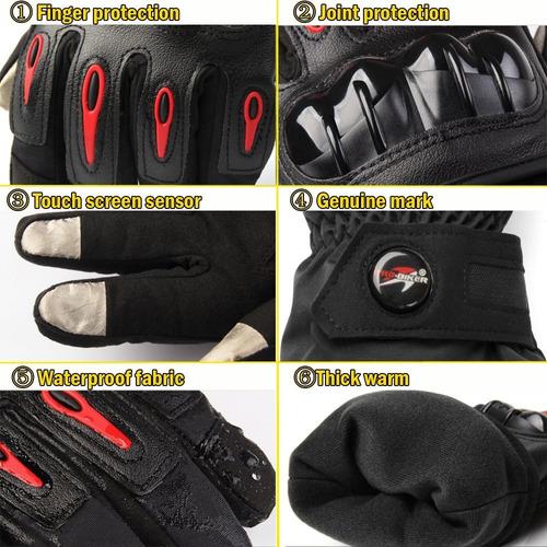 guantes impermeables térmicos con protección promoción
