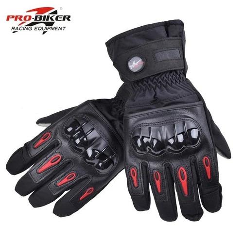 guantes  impermeables y termicos pro-biker p/motociclista