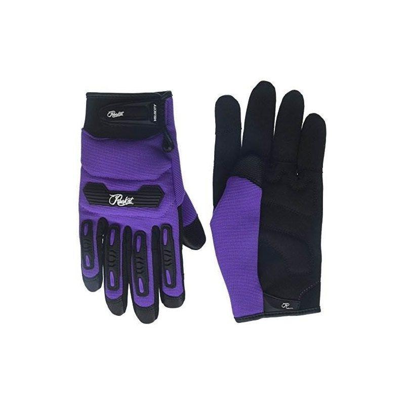 65a290d1 guantes joe rocket womens velocity 2.0 (púrpura, mediano). Cargando zoom.