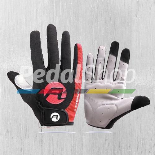 guantes largos + primera capa mtb ruta ciclismo gel talla l