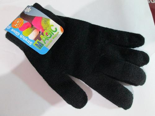 guantes magicos y orejeras termicas con envio y 18 msi