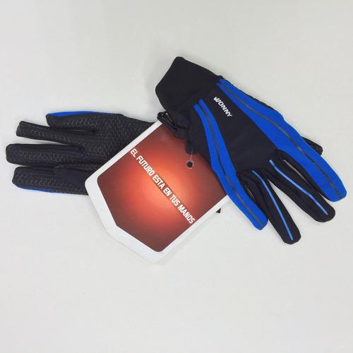 guantes marca wonny modelo hw-010 m blue outdoors wn276 azul