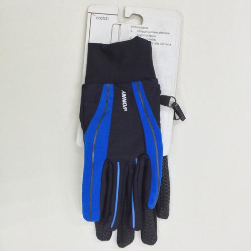 guantes marca wonny modelo hw-010 s blue outdoors wn409 azul
