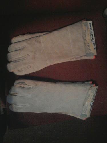 guantes mata chispa/ guantes para soldadores