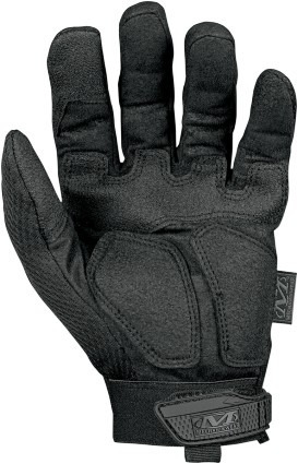guantes mechanix wear m-pact cortos negro mate lg