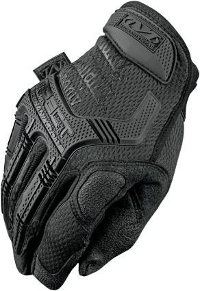 guantes mechanix wear m-pact cortos negro mate sm