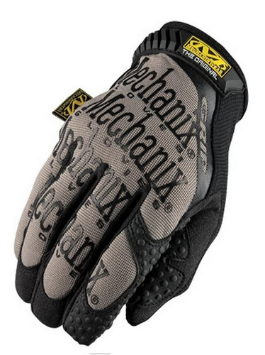 guantes mechanix wear original grip negro/gris lg
